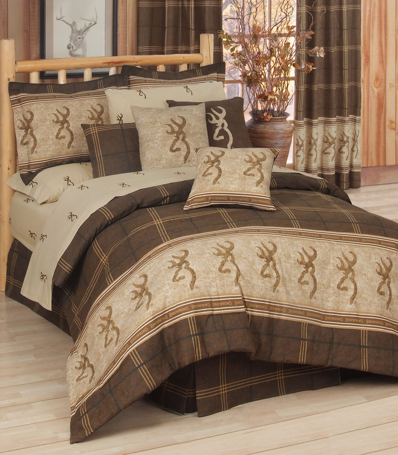 gatlinburg the sets comforter queen comforters bedding faux bears rustic leather