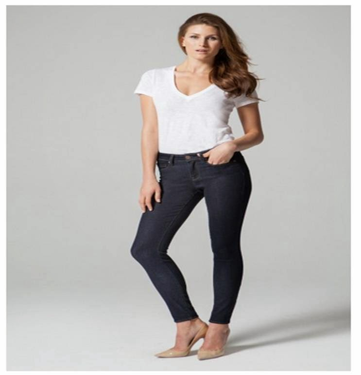 Ava Skinny jeans in Dark Shadow