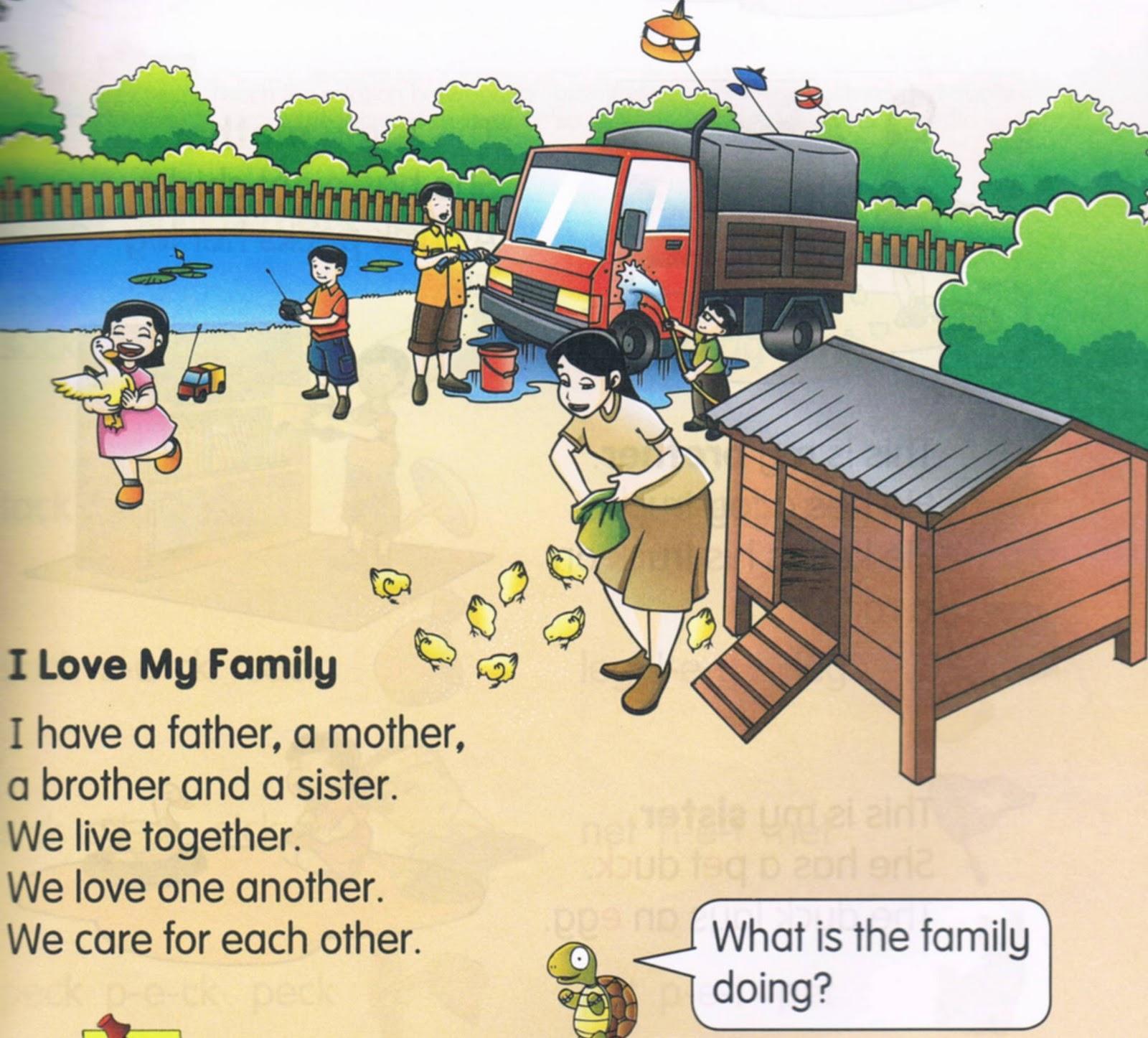 Happy English Site Unit 9 My Family
