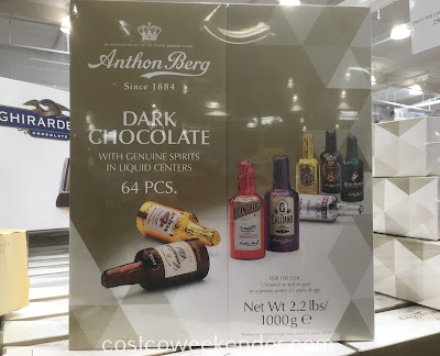 Enjoy liquor-filled chocolates with Anthon Berg Dark Chocolate Liqueurs