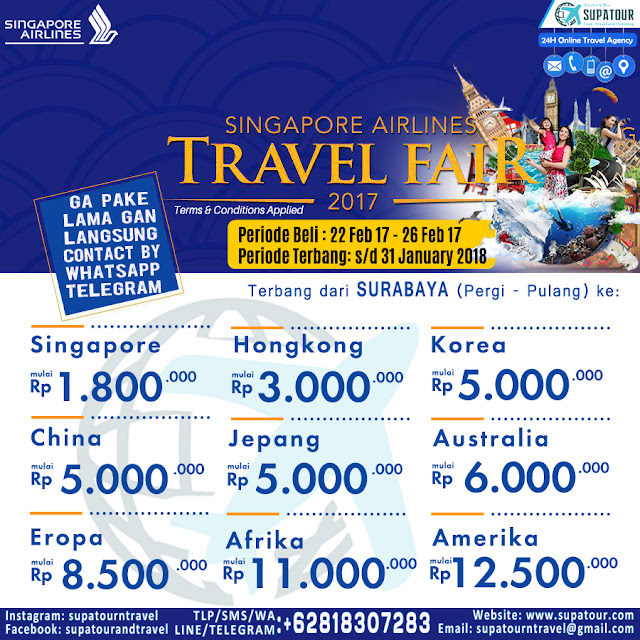 SQ Travel Fair 2017