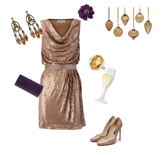 What Color Shoes Should I Wear With A Bronze Dress