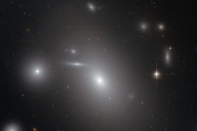 Hubble spies a sleeping giant