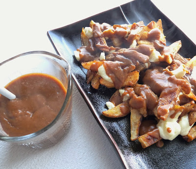Poutine with Roasted Potatoes and Homemade Gravy