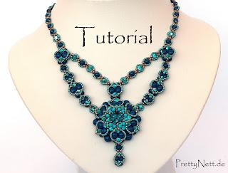"""Beading tutorial """"Alhambra"""" by PrettyNett.de"""