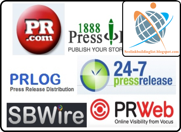 Top High PR Press Release Submission Sites List