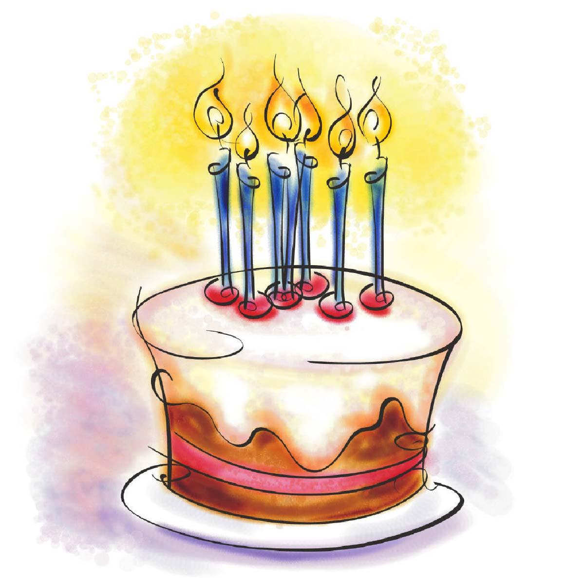 fira en födelsedag Fraidi: tårtkalas fira en födelsedag