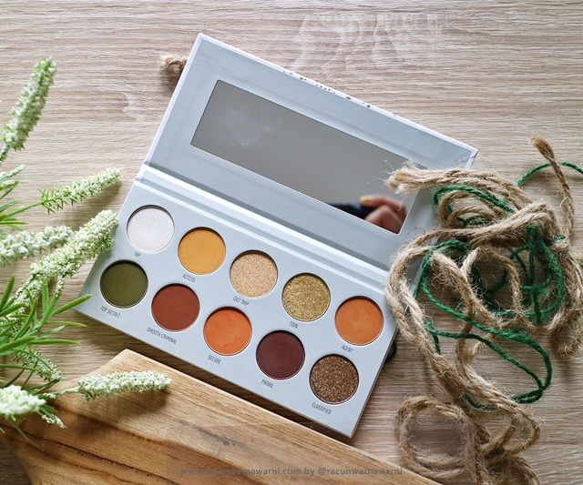 vault collection eyeshadow pallete
