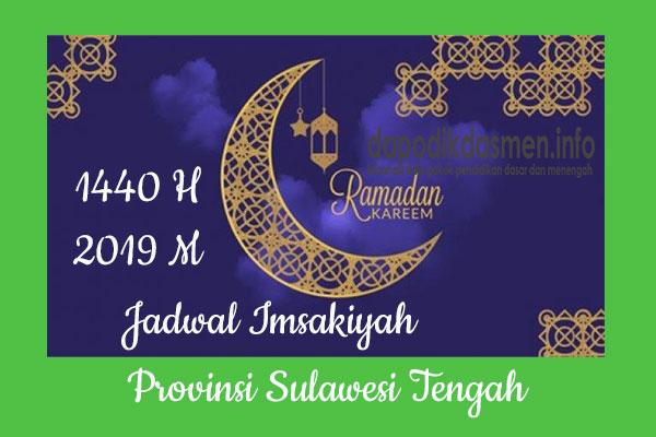 Jadwal Imsakiyah Ramadhan Provinsi Sulawesi Tengah