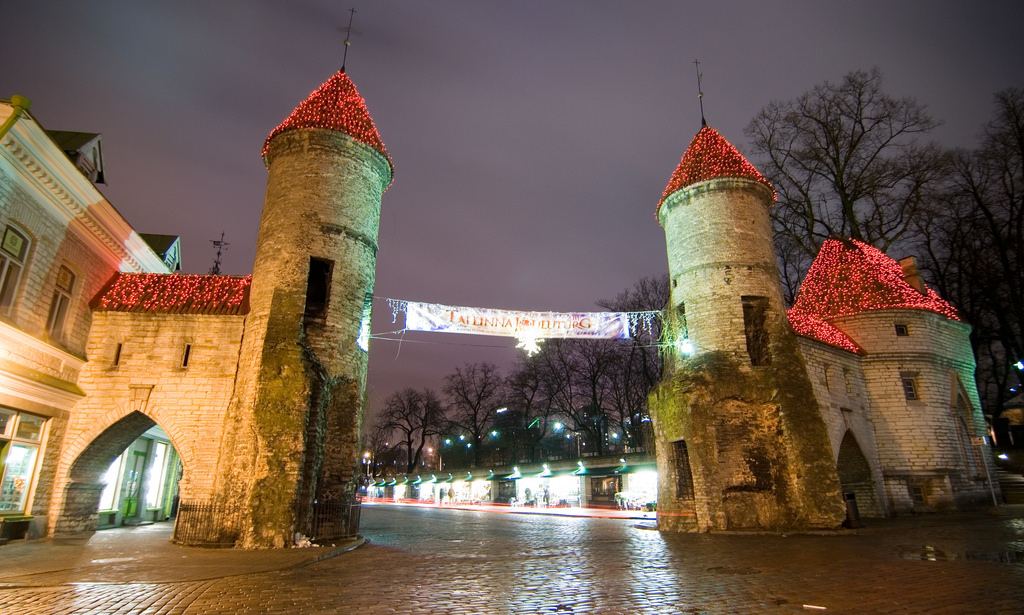 Viru Gate -Places to visit in Tallin Old Town. Photo by: Chris Cooper