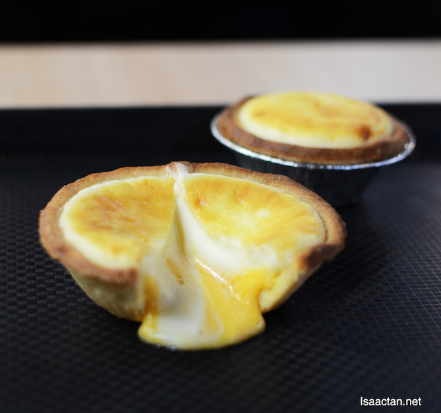Lava Salted Egg Cheese Tart - RM6.90