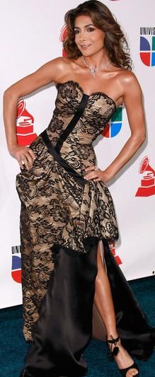 Foto de Patricia Manterola con bello vestido
