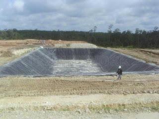 Jual Plastik HDPE Geomembrane Untuk Tambak Udang