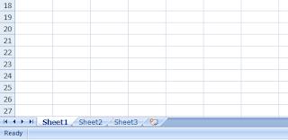 Worksheet excel 2007