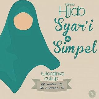 Gambar DP BBM jilbab hijab itu simple