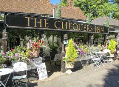 The Chequers Inn, Well, Hook, Hants