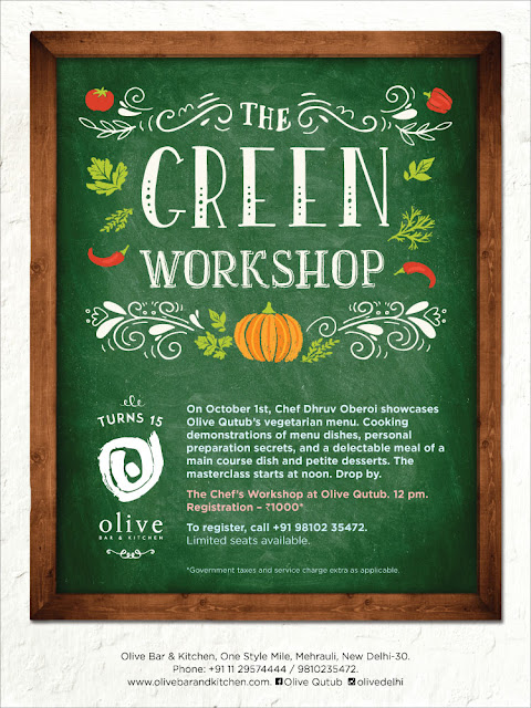 Olive Qutub Presents ​THE GREEN WORKSHOP​