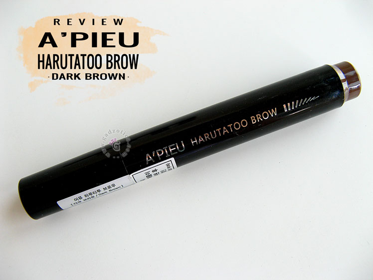 APIEU Harutatoo Brow Dark Brown