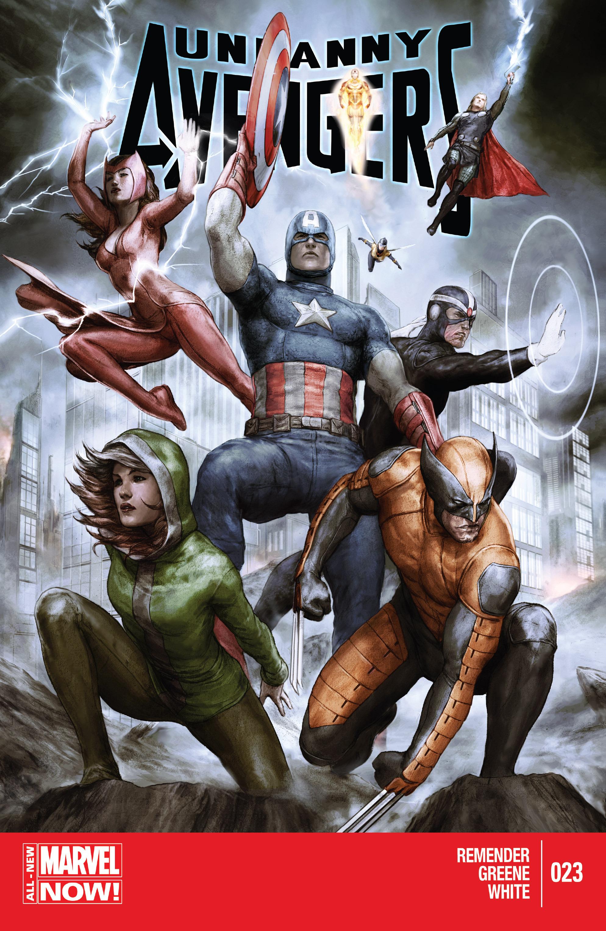 Read online Uncanny Avengers (2012) comic -  Issue #23 - 1