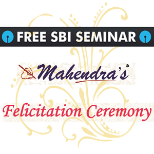 Free Open Seminar For SBI Clerk  & Felicitation Program Of Selected Candidates