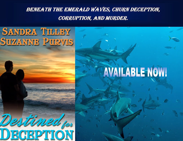http://www.amazon.com/Destined-Deception-Sandra-Tilley-ebook/dp/B00IDHCDUM/ref=sr_1_1?s=books&ie=UTF8&qid=1432731725&sr=1-1&keywords=destined+for+deception