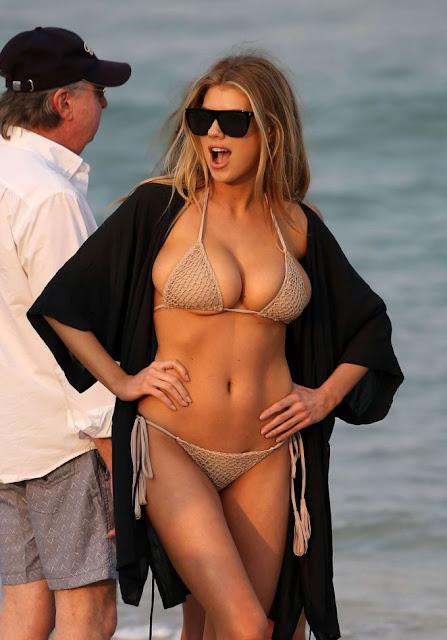 Charlotte McKinney in Tiny Bikini