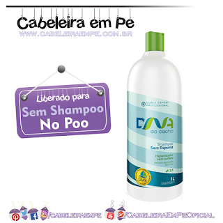 Shampoo Sem Espuma - DNA do Cacho - Salon Embelleze