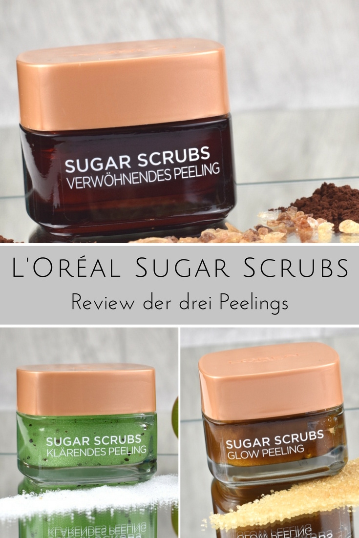 Review L'Oréal Sugar Scrubs Zuckerpeeling