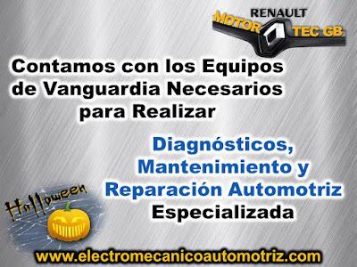 Taller Electromecánico Automotriz Renault Motortec GB