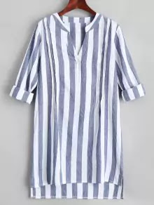 vestido rayas zaful