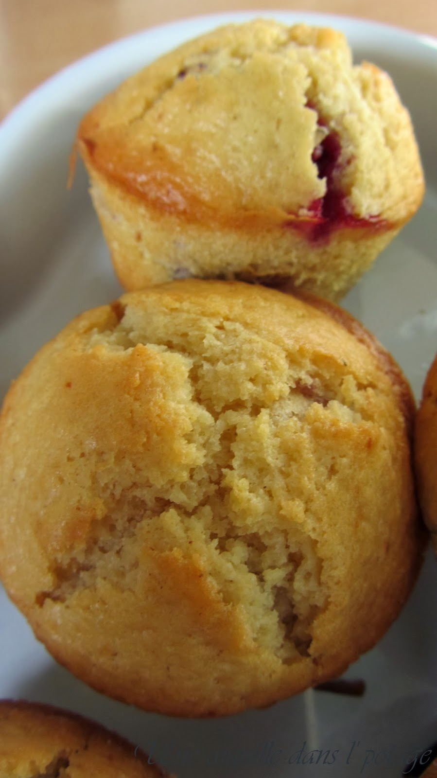 Muffins aux fruits rouges