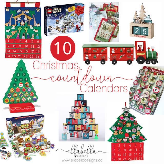 CHRISTMAS ADVENT COUNTDOWN CALENDARS