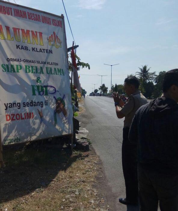 Baliho Habib Rizieq Digambar Alat Kelamin Laki-laki, FPI Klaten Lapor Polisi