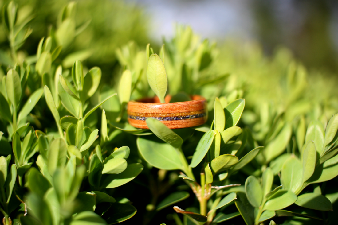 Simply Wood Rings Birth Flower Mother's Day Ring and Giveaway