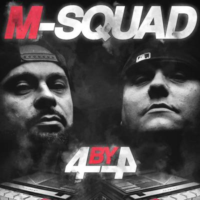 M-Squad - 4 By 4 -  Album Download, Itunes Cover, Official Cover, Album CD Cover Art, Tracklist