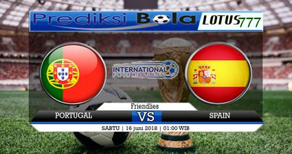 Prediksi Skor Bola Portugal Vs Spanyol 16 Juni 2018