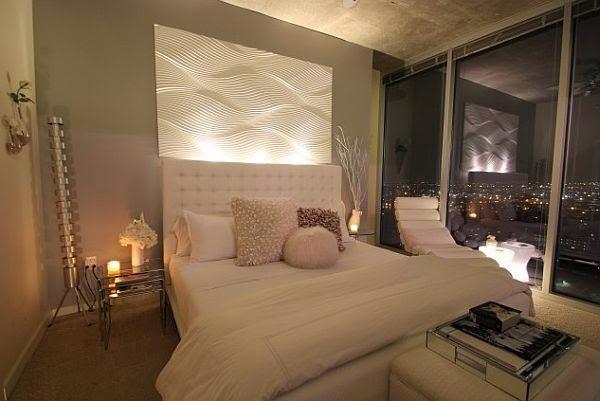 Habitación elegante y acogedora