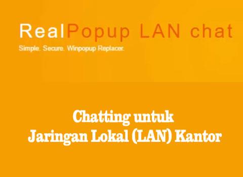 aplikasi chatting untuk jaringan lokal lan kantor