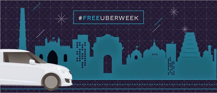 5 FREE Rides for Uber week in india till 30th Nov 2015 6PM for PayTM wallet users only