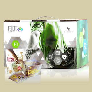 Програма за отслабване и фитнес Форевър Ф.И.Т. 1 - Шоколад и Шоколад /Forever FIT1  Chocolate-Chocolate/