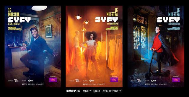 Muestra SYFY, Programación, Cine