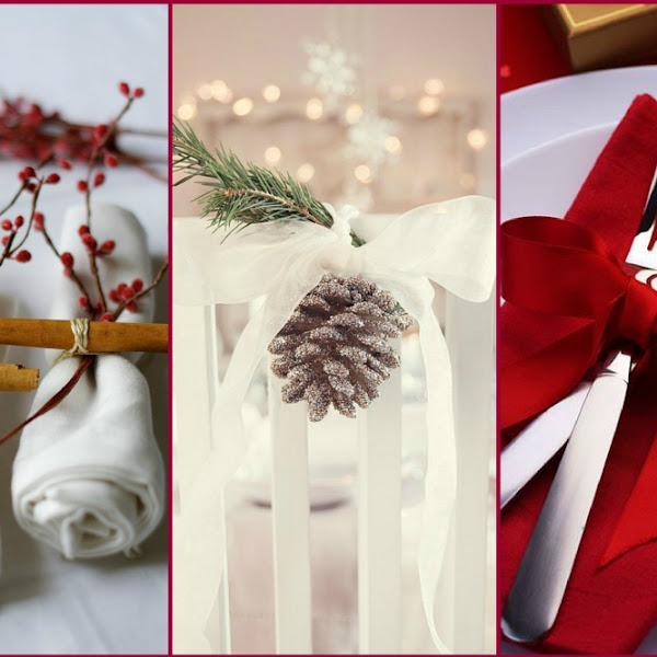 Easy Christmas Table DIY Decor
