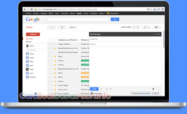 44+ Cara Bikin Email Gmail Baru paling mudah