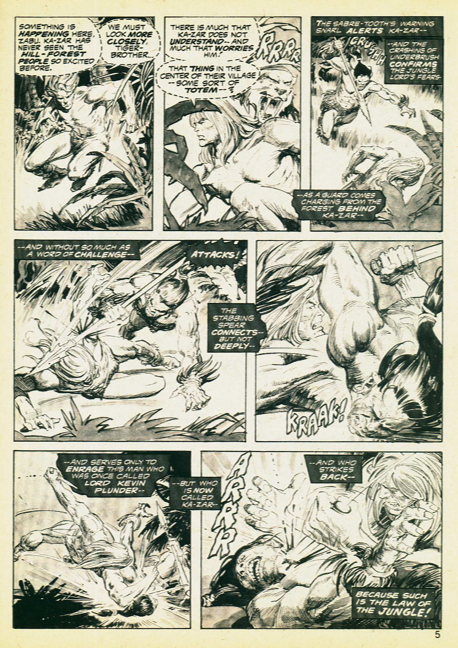 Savage Tales issue 8 - Page 3
