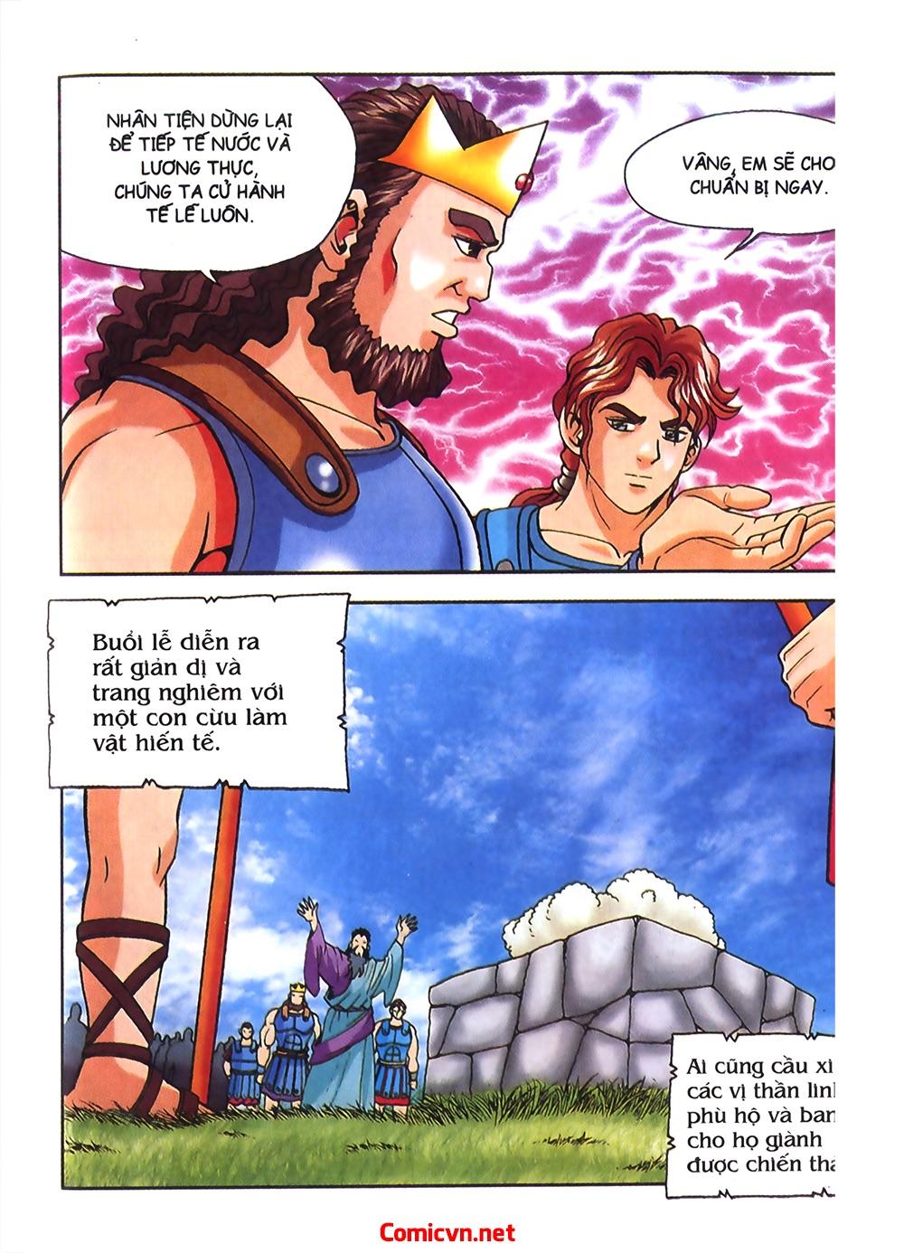 Thần Thoại Hy Lạp Màu - Chapter 54: Tiến về thành Troy - Pic 9