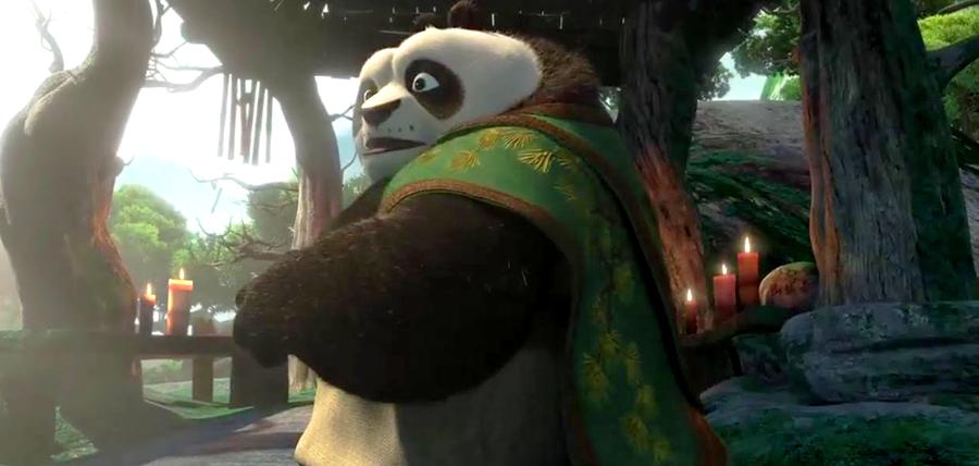 Tatăl lui Po în Kung Fu Panda 3