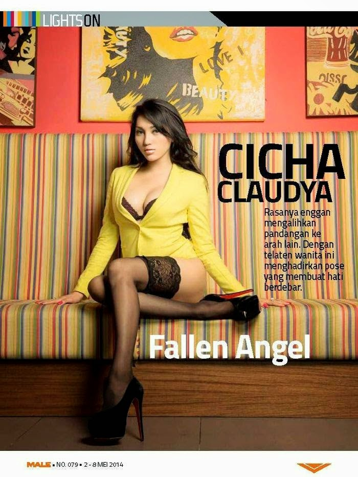Hot Photo Cicha Claudya Male Magazine