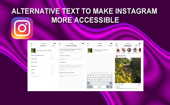 Instagram introduce Alt Text in Photos