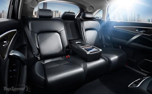 Interior Jok Belakang Honda Avancier 2017
