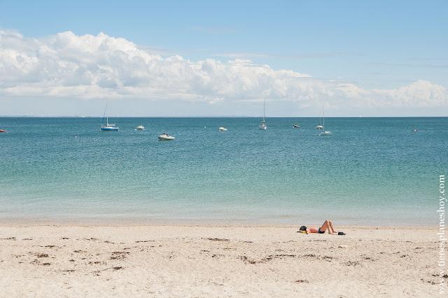 Peninsula Quiberon playas Bretaña turismo